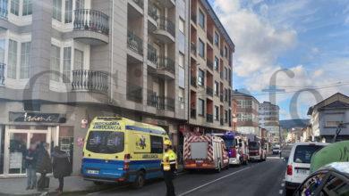 Photo of Incendio nun edificio no centro da Rúa