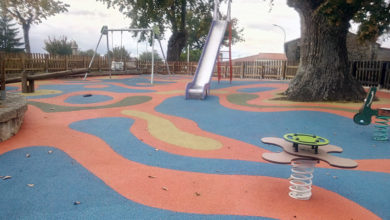 Photo of Melloras no parque infantil de Parada de Sil