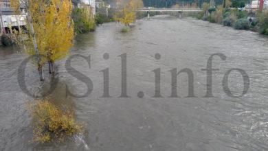 Photo of Crecida do río Sil ao seu paso polo Barco