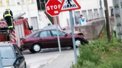 Photo of Accidente de tráfico xunto ao CEIP Manuel Respino da Rúa