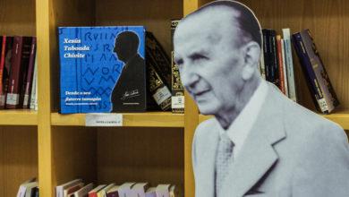 """Photo of O libro """"Xesús Taboada Chivite: Dende o seu fisterre tamagán"""" preséntase na Biblioteca de Verín"""