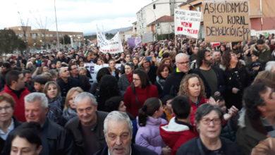 Photo of Milleiros de persoas percorren Verín en defensa da sanidade pública