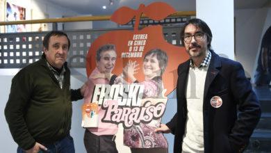 """Photo of O produtor de """"Eroski Paraíso"""", Gaspar Broullón, na estrea deste filme no Barco"""