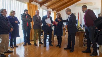 Photo of Homenaxe na Gudiña ao histórico membro da Cruz Vermella Jesús Barros