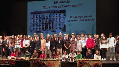 Photo of Dous escolares do Barco de Valdeorras entre os premiados no XXXVI Concurso da Constitución