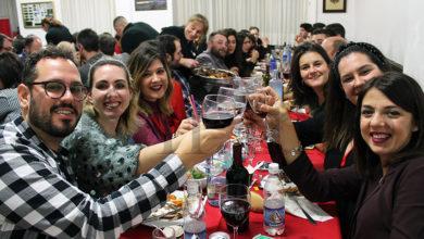 Photo of A Cea de Nadal da Asociación San Cristóbal da Rúa reúne a máis de 200 persoas no Casino
