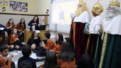 Photo of Visita dos Reis Magos ao colexio plurilingüe Divina Pastora do Barco