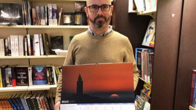 """Photo of Unha foto do barquense Sindo Novoa, no calendario do proxecto """"Ceos Galegos"""""""