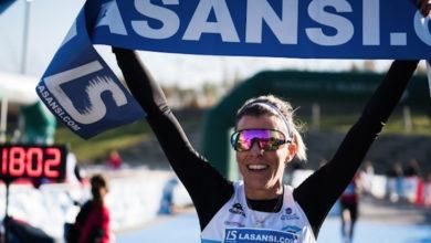 Photo of A atleta vilamartinesa Eva Arias, ganadora de La Sansi de Viladecans