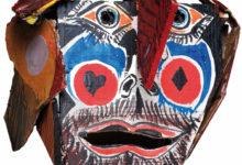Photo of As máscaras de teatro de Basallo e Quessada, pezas do mes do Museo Arqueolóxico de Ourense