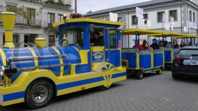 """Photo of O """"Tren de Nadal"""" de AEVA e do Barco CCA, xa percorre a vila"""