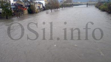 Photo of Activado o nivel de prealerta por desbordamento no río Sil ao seu paso polo Barco