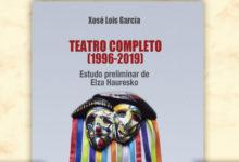 """Photo of O escritor galego Xosé Lois García presenta """"Teatro completo 1996-2019)"""" en Sober"""