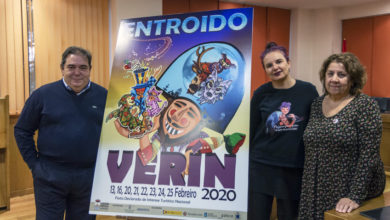 Photo of O cartel do Entroido de Verín 2020 é obra da artista local Aurora López