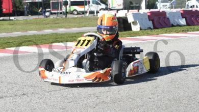 Photo of O barquense Leo Pérez, segundo no campionato social de inverno de karting de Cabañas