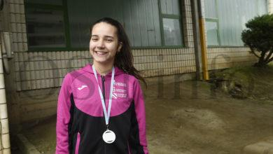 Photo of A valdeorresa Inés Docampo, terceira no campionato galego de cross Sub18