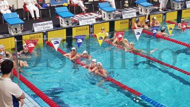Photo of Os Escualos fanse notar no campionato galego de inverno de natación máster celebrado en Lugo