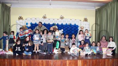 Photo of Os Reis Magos chegan a Rubiá cargados de agasallos para os cativos