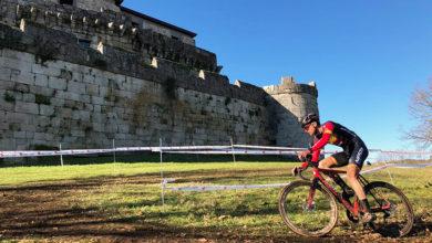 Photo of O ciclista Saúl López (CC Maceda), líder elite da Copa Galicia de Ciclocross