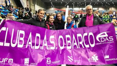 Photo of O Adas quédase a un paso do podio no galego absoluto feminino de clubs de pista cuberta