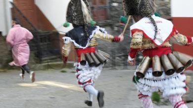 Photo of Boteiros vianeses, Felos e Cigarróns xúntanse cos Peliqueiros na apertura do Entroido en Campobecerros