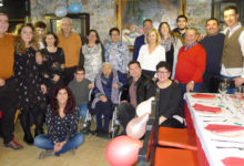 Photo of Carmen García, de Rubiá, celebra o seu centenario coa súa familia