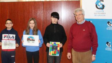 Photo of O Clúster da Pizarra de Galicia entrega os premios do seu concurso escolar de debuxo