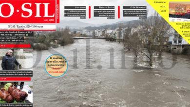 Photo of As crecidas nos ríos ourensáns e as principais festas do mes, entre os contidos do número de xaneiro do Periódico O Sil