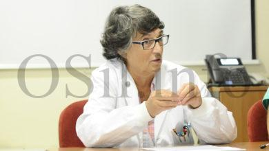 Photo of A doutora Guillermina Agulla, nova directora do Distrito Sanitario de Verín