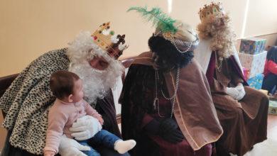 Photo of Os Reis Magos visitan aos cativos e aos maiores de San Xoán de Río