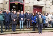 Photo of Acto de repulsa contra o crime da Pastoriza na Subdelegación do Goberno en Ourense