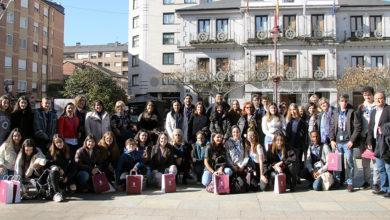Photo of Os participantes no Erasmus+ (KA229) chegan ao Barco de Valdeorras