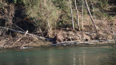 Photo of Os pescadores da Rúa amosan o seu malestar polo estado do río na zona da Graveira