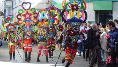 Photo of O desfile do Domingo Gordo en Viana do Bolo, en fotos