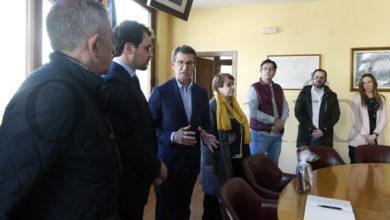 Photo of Visita do presidente da Xunta á Rúa