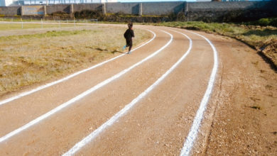 Photo of O Concello de Trives habilita unha pista de atletismo no campo de fútbol do Agro