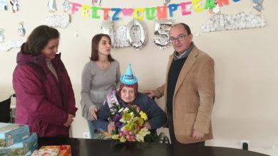 Photo of Modesta Fernández celebra o seu 105 aniversario en Parada de Sil