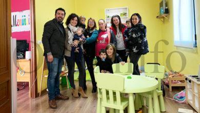Photo of A directora xeral de Familia, Infancia e Dinamización Demográfica visita a casa niño na Veiga e a escola infantil de Fátima na Rúa