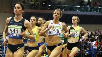 Photo of A valdeorresa Eva Arias, novena na semifinal dos 1.500 m no campionato de España absoluto de pista cuberta
