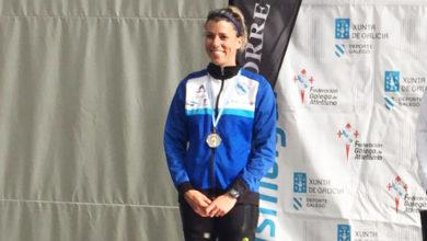 Photo of A vilamartinesa Eva Arias, subcampioa galega en 1.500 m e mínima para o nacional