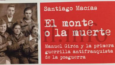 "Photo of Santiago Macías presentará en Rubiá unha edición ampliada do libro ""El monte o la muerte"""
