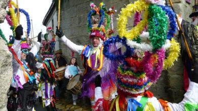 Photo of A elegante danza das Mázcaras e o toque dos fulións, protagonistas do Martes de Entroido en Manzaneda