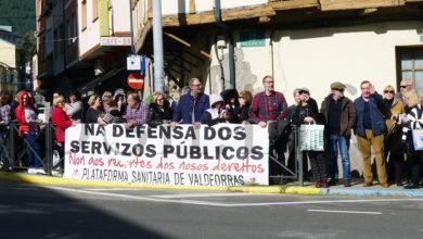 Photo of A Plataforma Sanitaria de Valdeorras reivindica a sanidade pública na visita do presidente da Xunta á Rúa