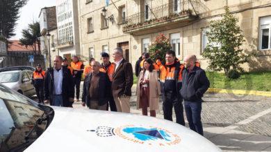 """Photo of Santiago Villanueva: """"As agrupacións de Protección Civil son un punto esencial na atención ás emerxencias en Galicia"""""""
