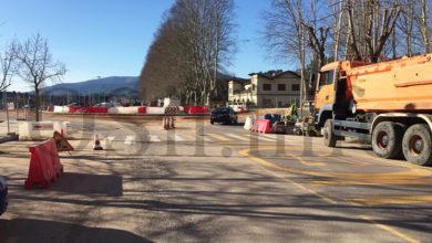 Photo of Posibles cortes de tráfico polo asfaltado da nova rotonda de Calabagueiros (O Barco)