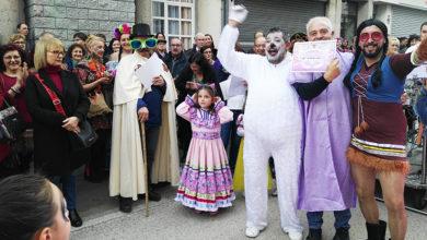 Photo of Quiroga vive o Entroido cun concurrido desfile de comparsas