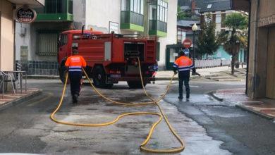 Photo of Labores de desinfección no concello de Vilamartín de Valdeorras