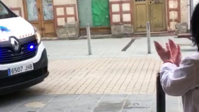Photo of Protección Civil da Rúa felicita aniversarios durante o confinamento