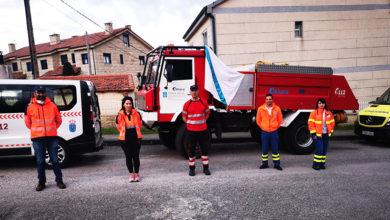 Photo of Agradecemento aos servizos de emerxencias e sanitarios en Allariz