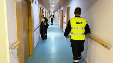 Photo of A UME desinfecta residencias da terceira idade de diferentes concellos da provincia de Ourense